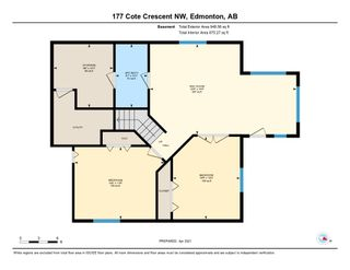 Photo 48: 177 Cote Crescent in Edmonton: Zone 27 House for sale : MLS®# E4239689