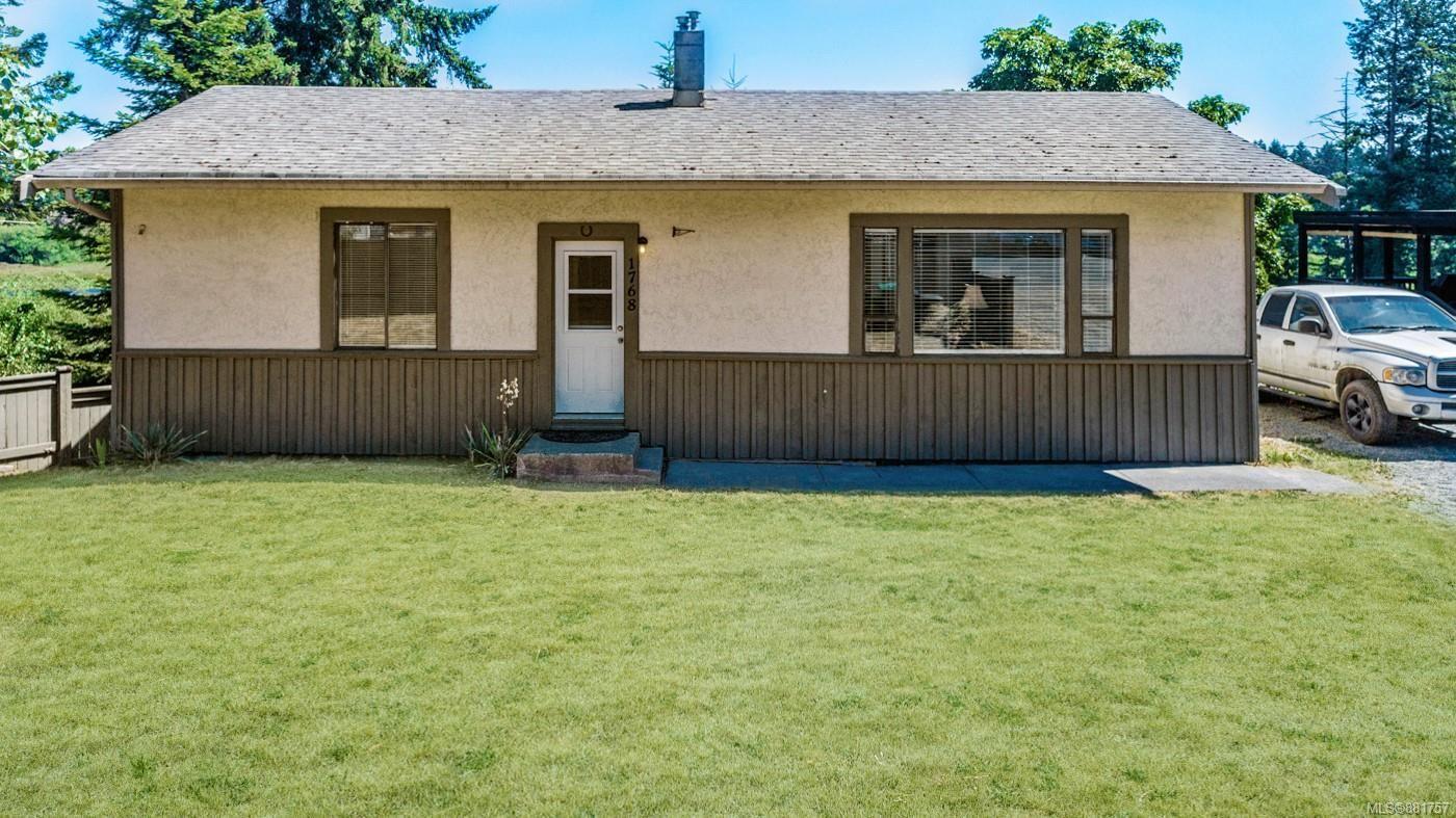 Main Photo: 1768 Cedar Rd in : Na Cedar House for sale (Nanaimo)  : MLS®# 881757