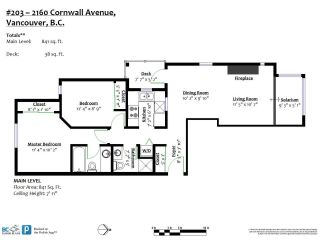 Photo 22: 203 2160 CORNWALL Avenue in Vancouver: Kitsilano Condo for sale (Vancouver West)  : MLS®# R2534768