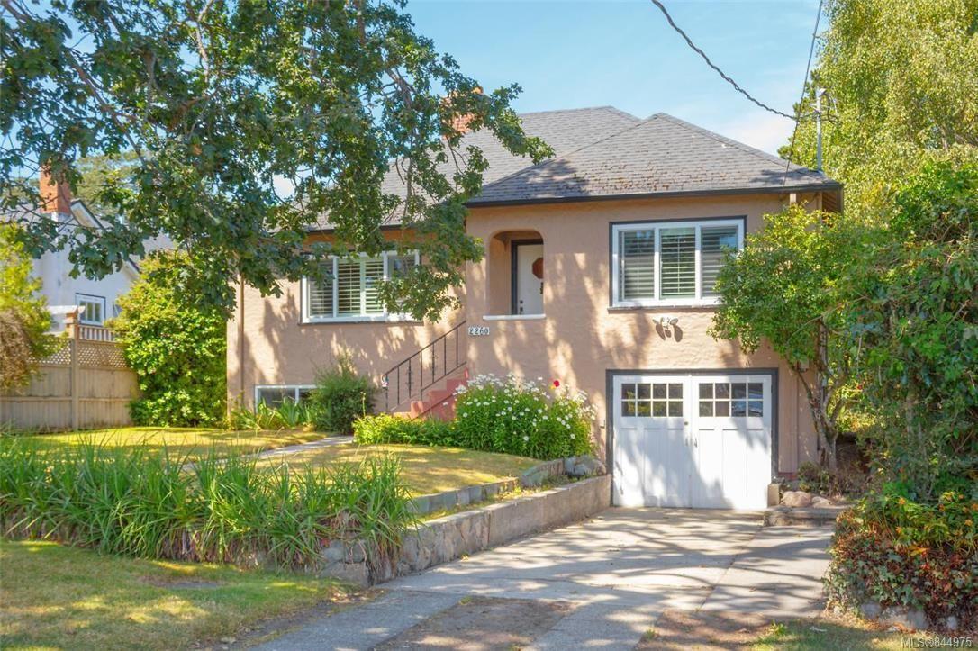 Main Photo: 2260 Central Ave in Oak Bay: OB South Oak Bay House for sale : MLS®# 844975