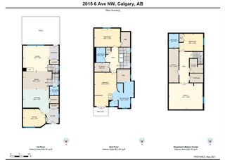 Photo 48: 2015 6 Avenue NW in Calgary: West Hillhurst Semi Detached for sale : MLS®# A1105815