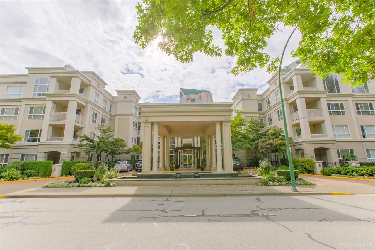 "Main Photo: 342 3098 GUILDFORD Way in Coquitlam: North Coquitlam Condo for sale in ""MARLBOROUGH HOUSE"" : MLS®# R2406839"