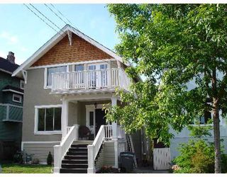 """Photo 1: 1949 ADANAC Street in Vancouver: Grandview VE House for sale in """"COMMERCIAL DRIVE"""" (Vancouver East)  : MLS®# V652514"""