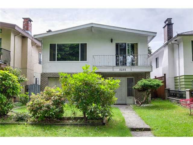 "Main Photo: 5255 CHAMBERS Street in Vancouver: Collingwood VE House for sale in ""NORQUAY VILLAGE"" (Vancouver East)  : MLS®# V1072301"