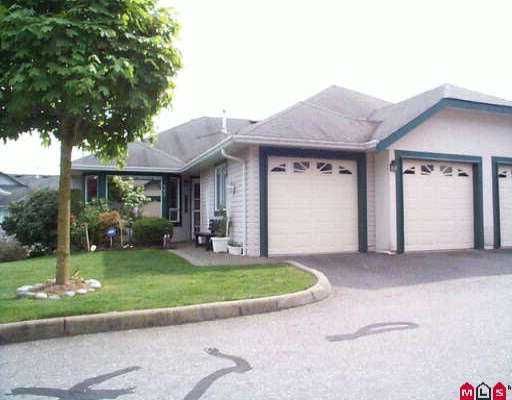 """Main Photo: 167 3160 TOWNLINE RD in Abbotsford: Abbotsford West Townhouse for sale in """"Southpoint Ridge"""" : MLS®# F2508590"""