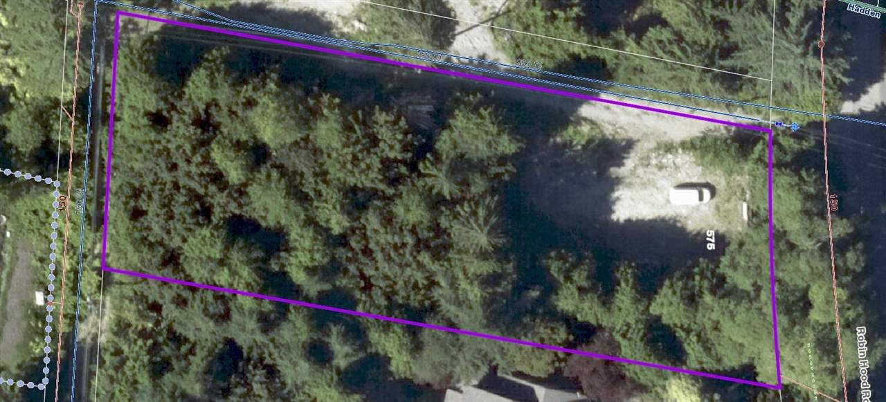 Treed Lot with Utilities