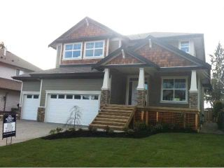 "Photo 1: 23870 106TH Avenue in Maple Ridge: Albion House for sale in ""FALCON BLUFF"" : MLS®# V855111"
