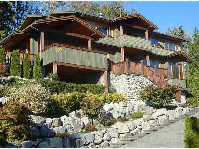 Main Photo: 2275 ORCHARD LANE in West Vancouver: Queens House for sale ()  : MLS®# V923256
