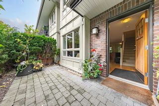"""Photo 1: 8 4055 PENDER Street in Burnaby: Willingdon Heights Townhouse for sale in """"Redbrick"""" (Burnaby North)  : MLS®# R2619973"""