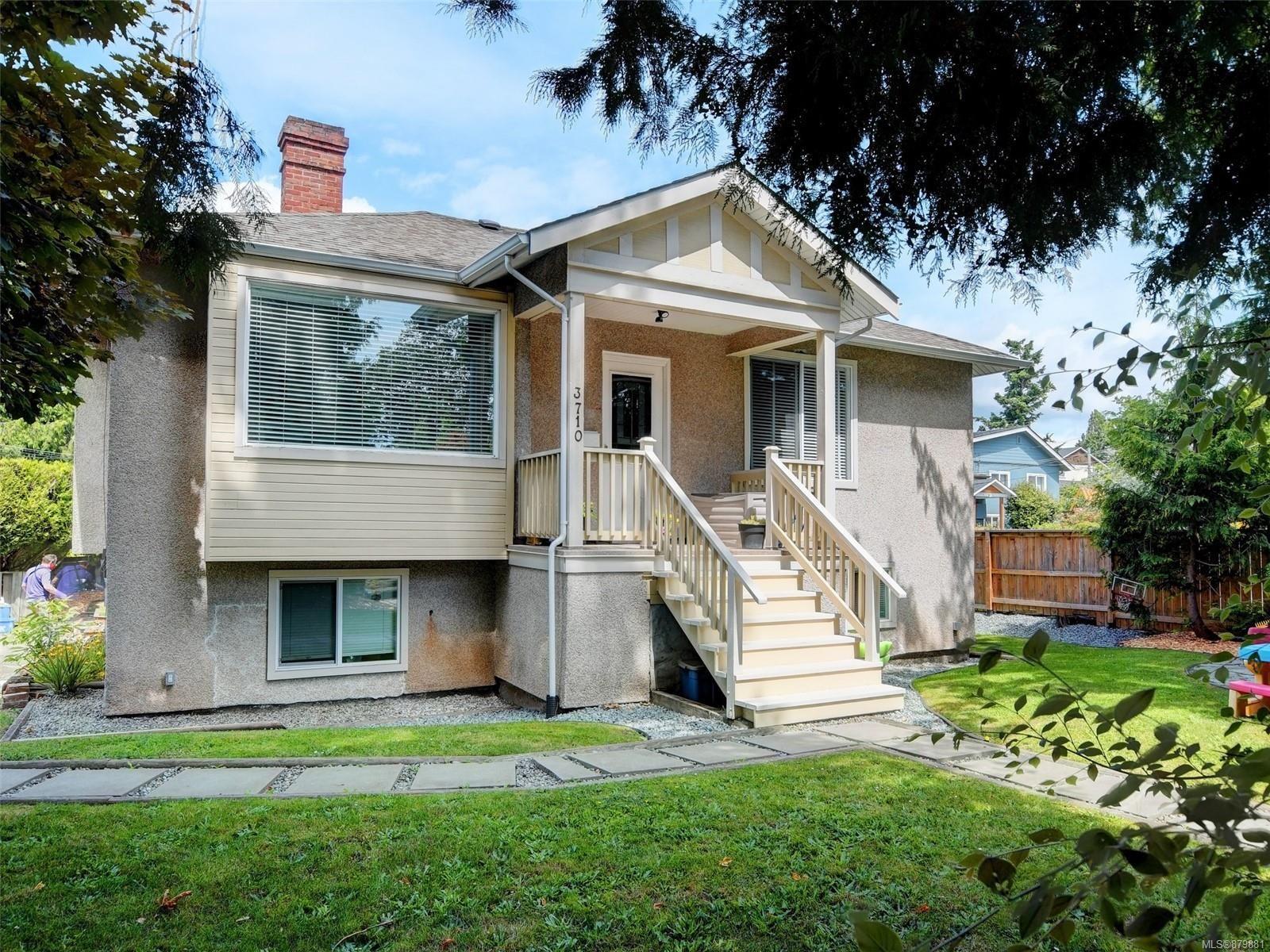 Main Photo: 3710 Saanich Rd in : SE Swan Lake Triplex for sale (Saanich East)  : MLS®# 879881