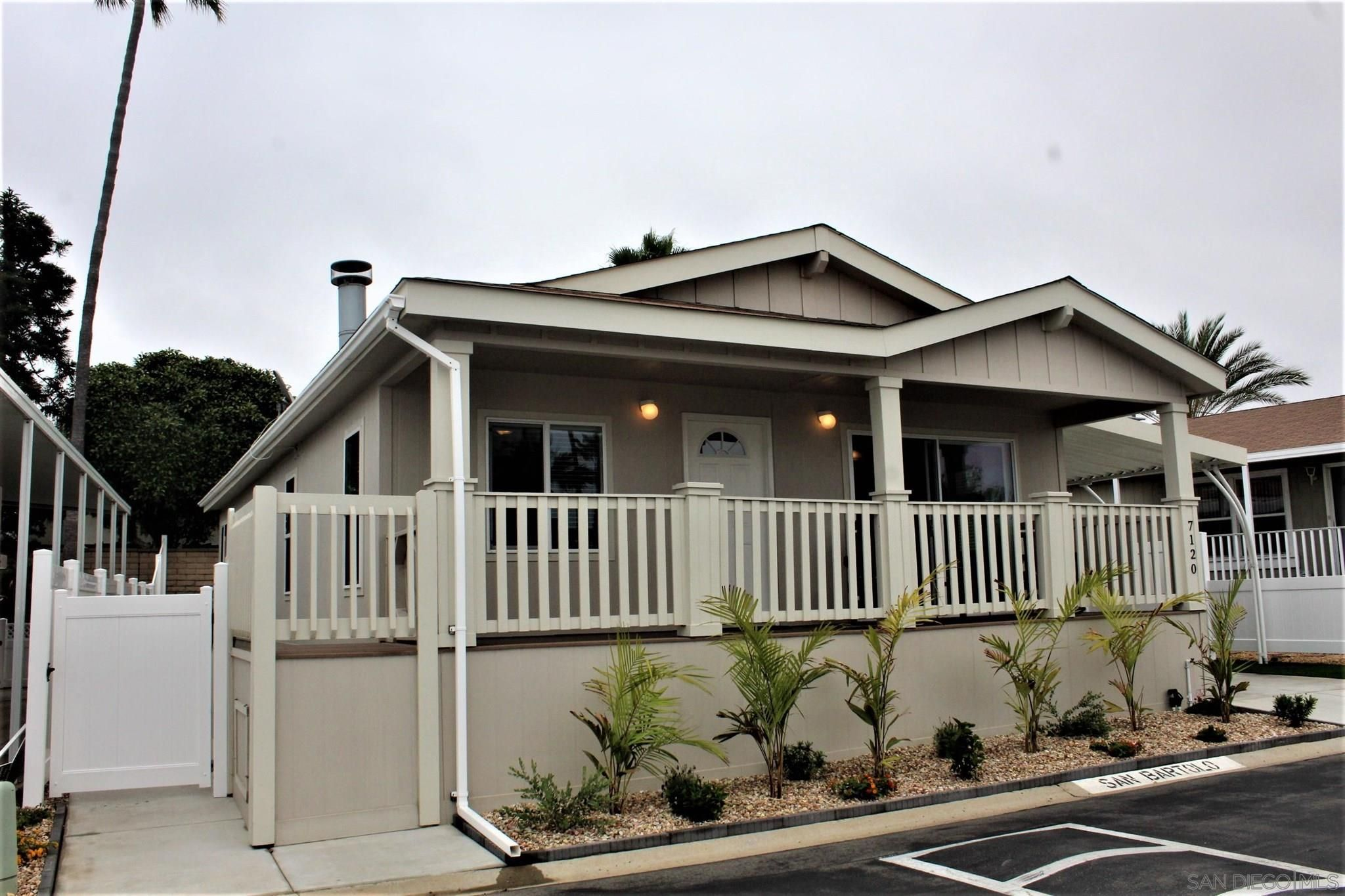 Main Photo: CARLSBAD WEST Manufactured Home for sale : 3 bedrooms : 7120 San Bartolo Street #2 in Carlsbad