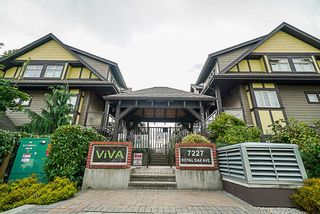 Photo 1: 102 7227 ROYAL OAK AVENUE in Burnaby: Metrotown Townhouse for sale (Burnaby South)  : MLS®# R2302097