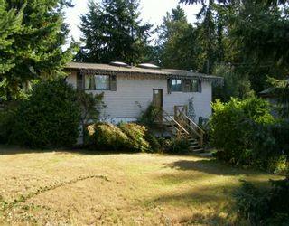 Photo 1: 5422 DERBY Road in Sechelt: Sechelt District House for sale (Sunshine Coast)  : MLS®# V613198