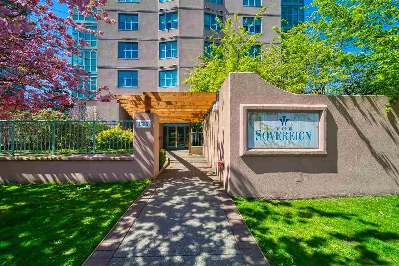 """Main Photo: 1503 1555 EASTERN Avenue in North Vancouver: Central Lonsdale Condo for sale in """"THE SOVEREIGN"""" : MLS®# R2570416"""