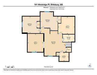 Photo 34: 101 Westridge Place: Didsbury Detached for sale : MLS®# A1096532
