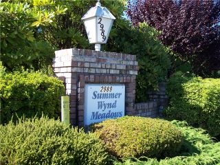 "Photo 13: 18 2989 TRAFALGAR Street in Abbotsford: Central Abbotsford Townhouse for sale in ""Summer wynd Meadows"" : MLS®# F1321705"