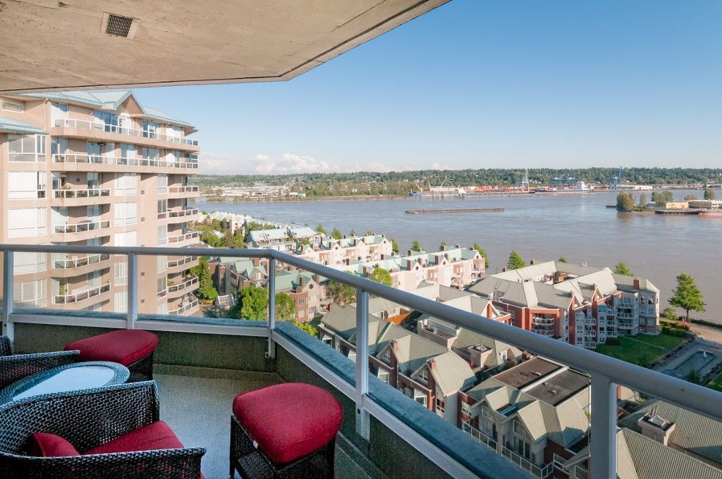 """Main Photo: # 1806 1245 QUAYSIDE DR in New Westminster: Quay Condo for sale in """"THE RIVIERA"""" : MLS®# V1008511"""