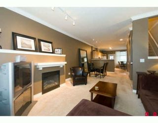 """Photo 3: 8 18828 69TH Avenue in Surrey: Clayton Townhouse for sale in """"STARPOINT"""" (Cloverdale)  : MLS®# F2925562"""