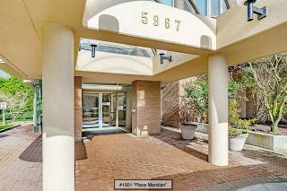 """Photo 2: 1001 5967 WILSON Avenue in Burnaby: Metrotown Condo for sale in """"Place Meridian"""" (Burnaby South)  : MLS®# R2555565"""
