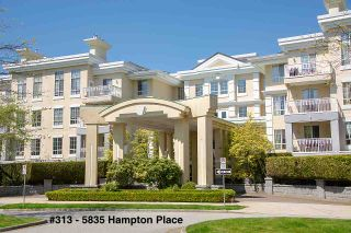 """Photo 1: 313 5835 HAMPTON Place in Vancouver: University VW Condo for sale in """"ST. JAMES HOUSE"""" (Vancouver West)  : MLS®# R2265887"""