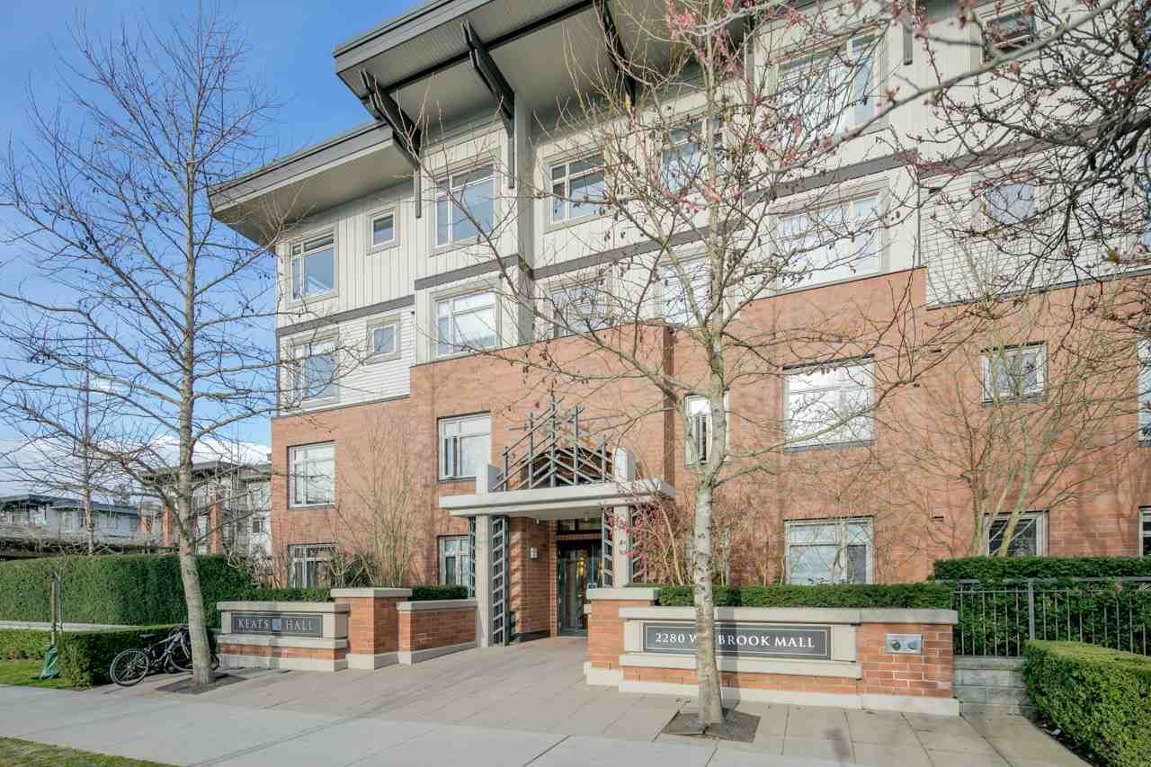 Main Photo: 310 2280 WESBROOK Mall in Vancouver: University VW Condo for sale (Vancouver West)  : MLS®# R2248108
