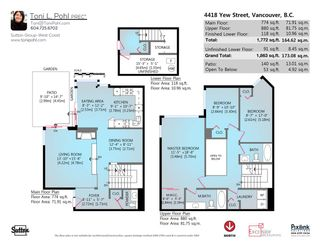 """Photo 20: 4418 YEW Street in Vancouver: Quilchena Townhouse for sale in """"ARBUTUS WEST"""" (Vancouver West)  : MLS®# R2055767"""