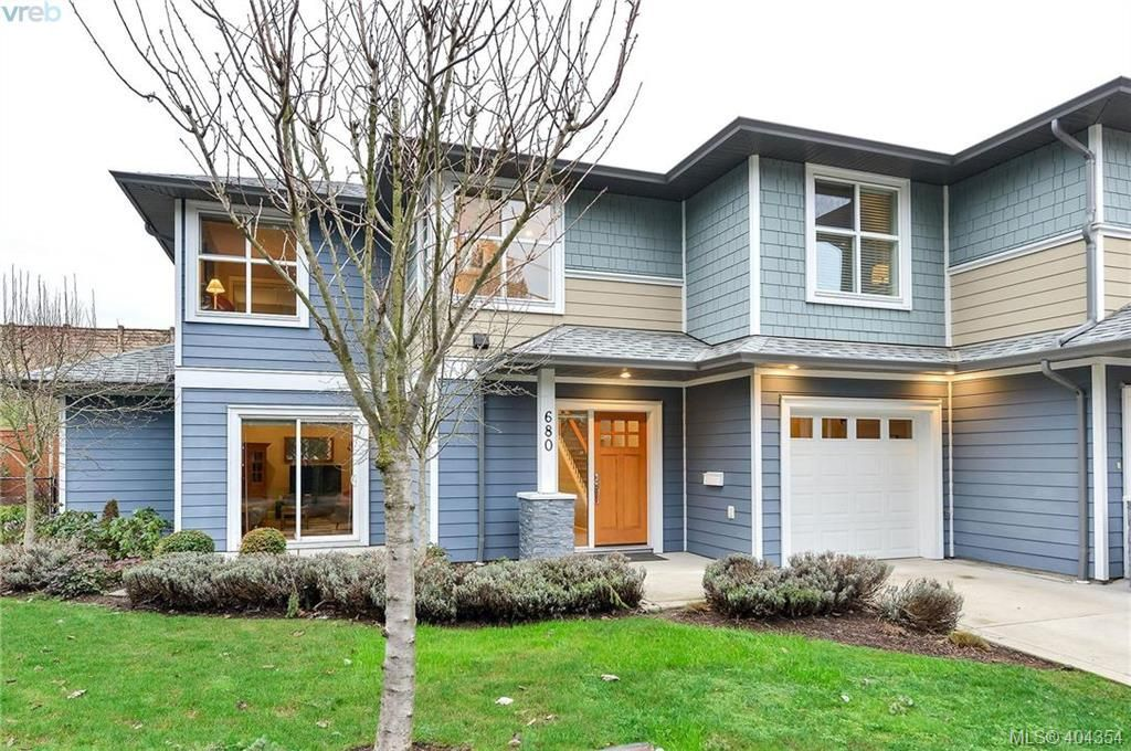 Main Photo: 680 Strandlund Ave in VICTORIA: La Mill Hill Row/Townhouse for sale (Langford)  : MLS®# 803440