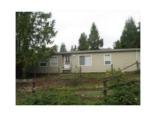 Photo 1: 11852 284TH Street in Maple Ridge: Whonnock House for sale : MLS®# V828794