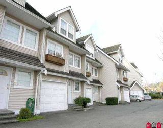 """Photo 1: 16 19948 WILLOUGHBY WY in Langley: Willoughby Heights Townhouse for sale in """"Cranbrook Court LMS1471"""" : MLS®# F2524925"""