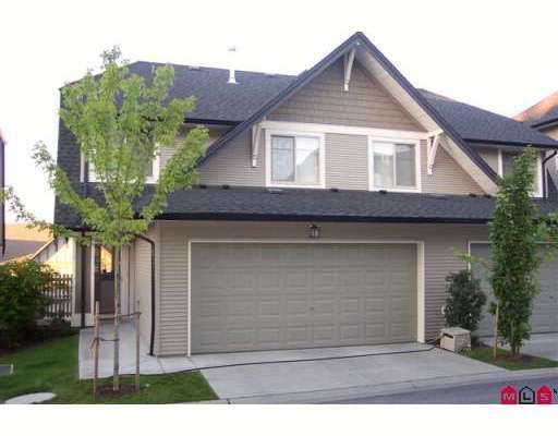 """Main Photo: 16 15152 62A Avenue in Surrey: Sullivan Station Townhouse for sale in """"THE UPLANDS"""" : MLS®# F2722783"""