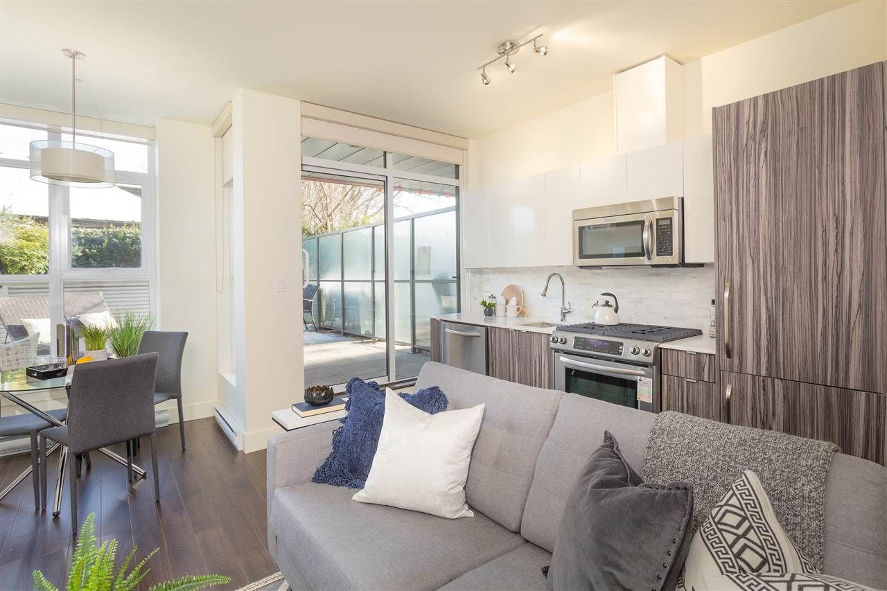 """Main Photo: 212 2250 COMMERCIAL Drive in Vancouver: Grandview VE Condo for sale in """"MARQUEE"""" (Vancouver East)  : MLS®# R2241170"""