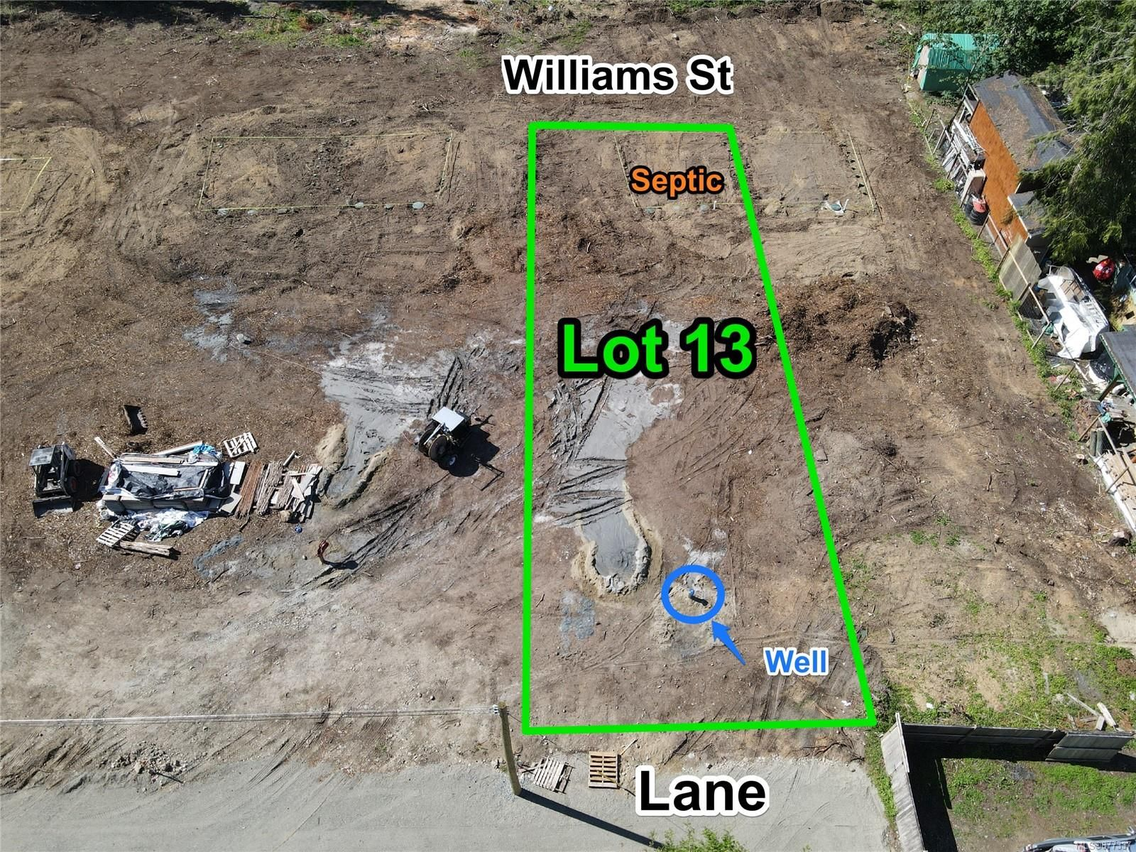 Main Photo: Lot 13 Williams St in : PQ Errington/Coombs/Hilliers Land for sale (Parksville/Qualicum)  : MLS®# 877337