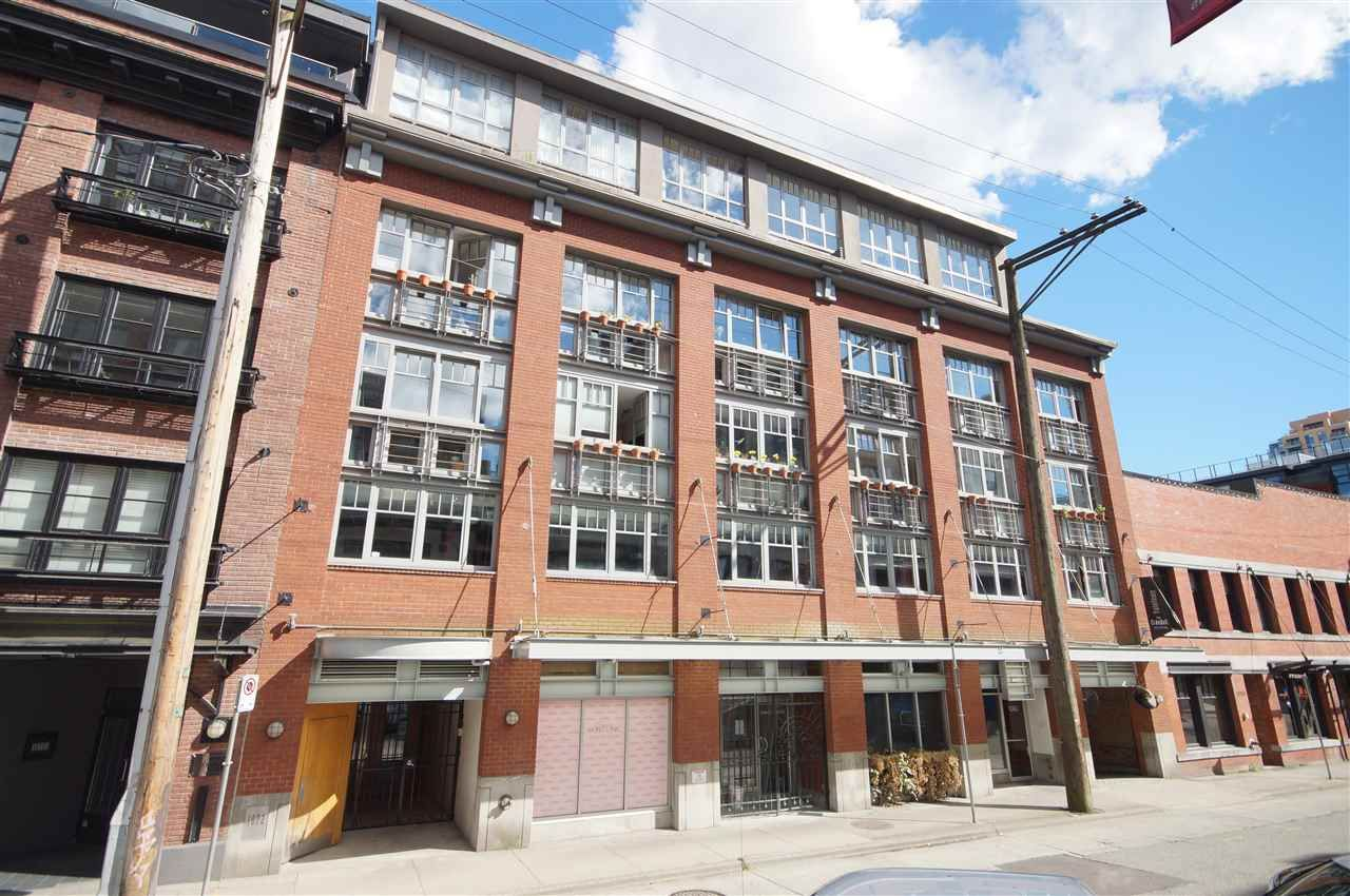 Main Photo: 408 1072 HAMILTON STREET in Vancouver: Yaletown Condo for sale (Vancouver West)  : MLS®# R2591219