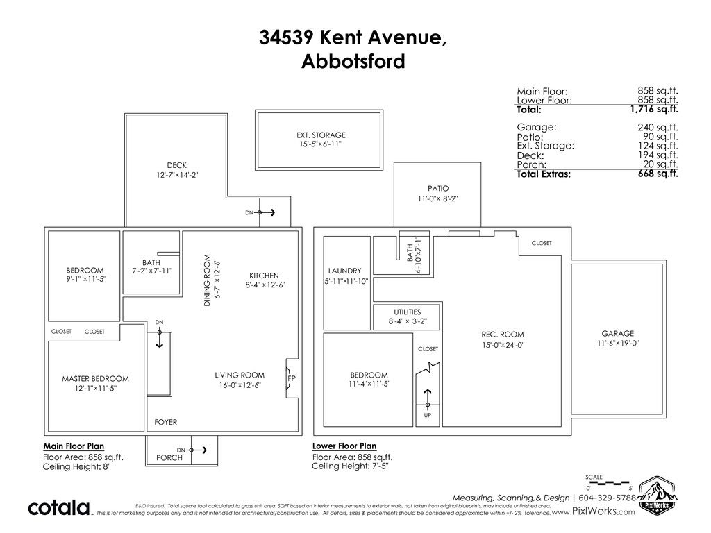 Photo 39: Photos: 34539 KENT Avenue in Abbotsford: Abbotsford East House for sale : MLS®# R2569540