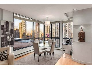 """Photo 6: 1502 1177 PACIFIC Boulevard in Vancouver: Yaletown Condo for sale in """"PACIFIC PLAZA"""" (Vancouver West)  : MLS®# V1122980"""