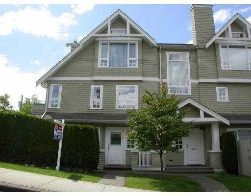 Main Photo: 1545 TRAFALGAR ST in Vancouver: Kitsilano Townhouse for sale (Vancouver West)  : MLS®# V538558