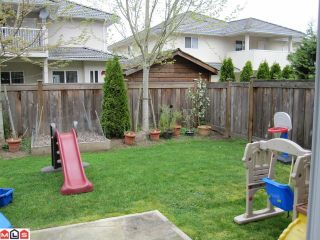 """Photo 10: 18 8717 159TH Street in Surrey: Fleetwood Tynehead Townhouse for sale in """"SPRINGFIELD GARDENS"""" : MLS®# F1011185"""