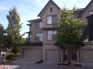 "Photo 1: 92 15152 62A Avenue in Surrey: Sullivan Station Townhouse for sale in ""Uplands at Panorama Place"" : MLS®# F1217501"