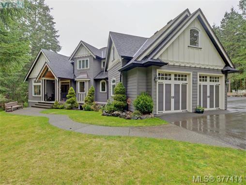 Main Photo: 614 Southwood Dr in VICTORIA: Hi Western Highlands House for sale (Highlands)  : MLS®# 757801