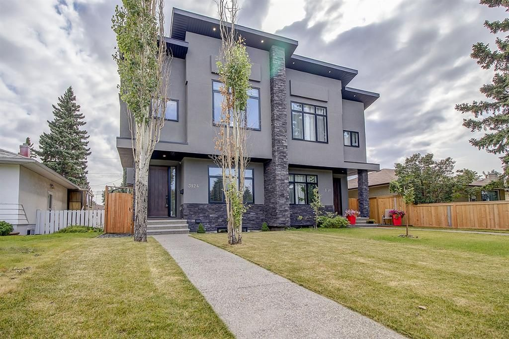 Main Photo: 3124 45 Street SW in Calgary: Glenbrook Semi Detached for sale : MLS®# A1140427