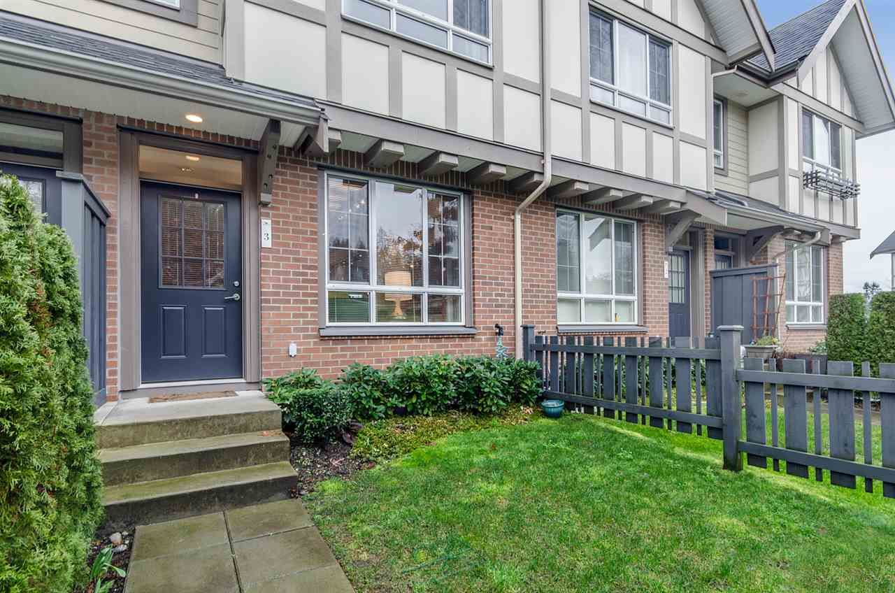 """Main Photo: 3 1338 HAMES Crescent in Coquitlam: Burke Mountain Townhouse for sale in """"FARRINGTON PARK"""" : MLS®# R2036275"""