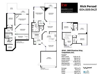 Photo 20: 148 1685 PINETREE Way in Coquitlam: Westwood Plateau Townhouse for sale : MLS®# R2047348