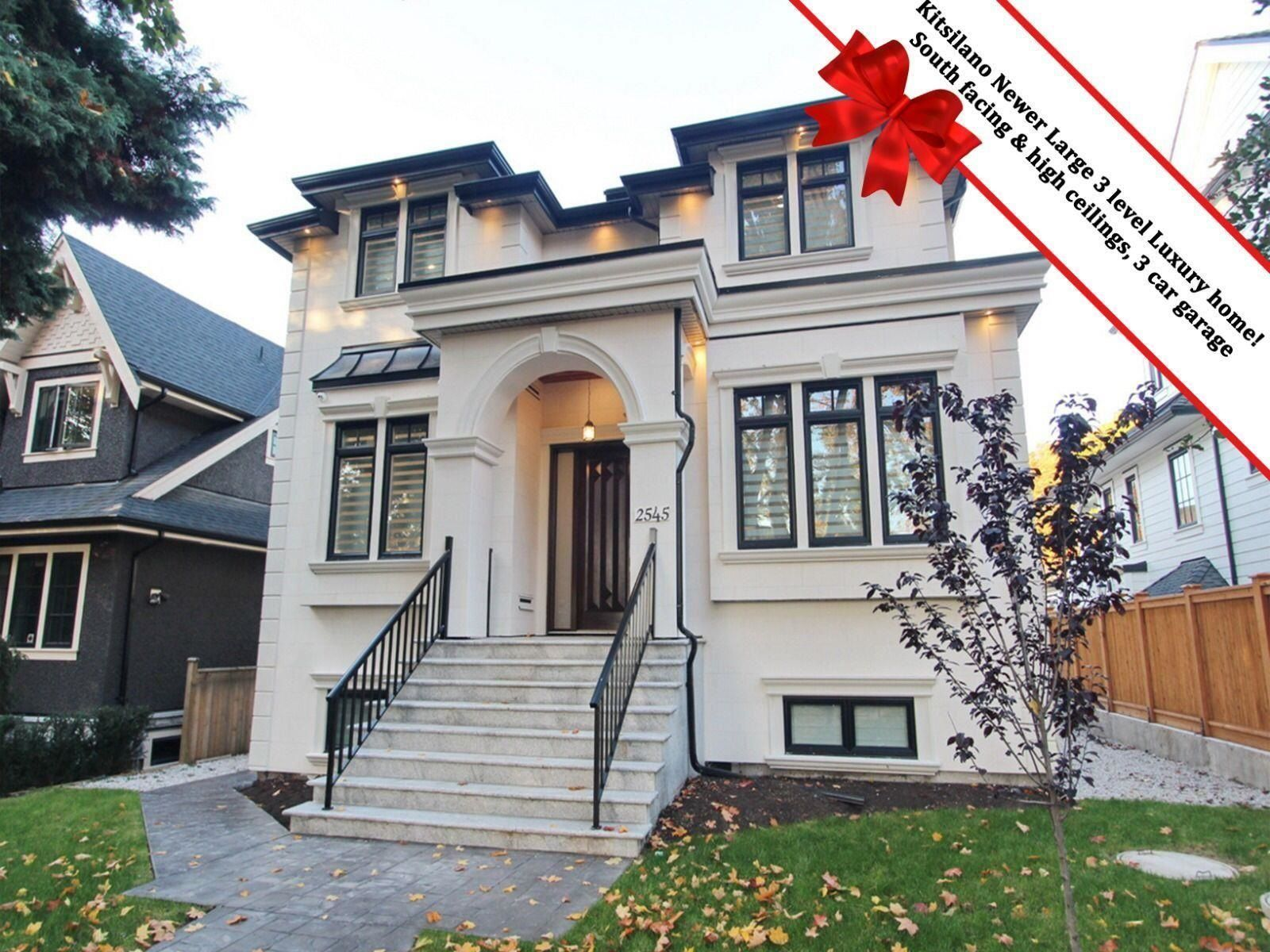Main Photo: 2545 W 15TH Avenue in Vancouver: Kitsilano House for sale (Vancouver West)  : MLS®# R2617857