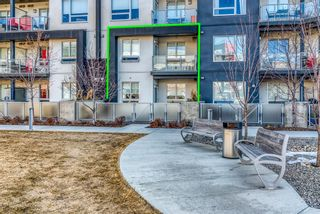 Photo 1: 109 8531 8A Avenue SW in Calgary: West Springs Apartment for sale : MLS®# A1079426