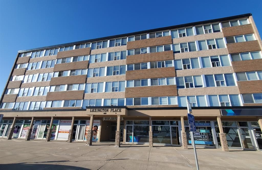 Main Photo: 304 4820 47 Avenue: Red Deer Apartment for sale : MLS®# A1061234