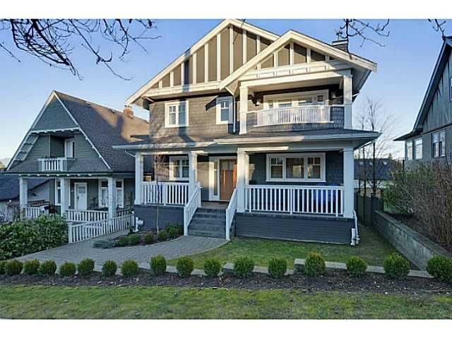 "Main Photo: 3868 HEATHER ST in Vancouver: Cambie House for sale in ""DOUGLAS PARK"" (Vancouver West)  : MLS®# V1046332"