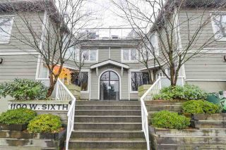 "Photo 1: F7 1100 W 6TH Avenue in Vancouver: Fairview VW Townhouse for sale in ""Fairview Place"" (Vancouver West)  : MLS®# R2522475"
