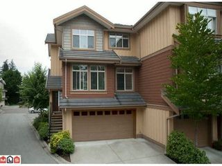 Photo 1: 49 15151 34TH Ave in South Surrey White Rock: Morgan Creek Home for sale ()  : MLS®# F1301341
