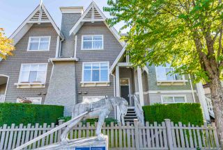 Photo 1: 2 7288 HEATHER Street in Richmond: McLennan North Townhouse for sale : MLS®# R2410050