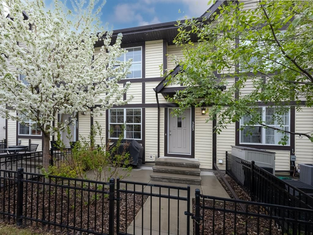 Main Photo: 323 Cranford Court SE in Calgary: Cranston Row/Townhouse for sale : MLS®# A1111144